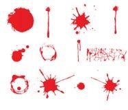 Grunge kiści farba Zdjęcie Royalty Free
