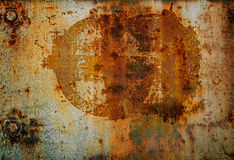 Grunge Kleber-Wandhintergrund stockfotos