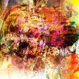 Grunge kleurrijke achtergrond Royalty-vrije Stock Foto