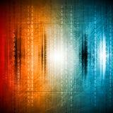 Grunge kleurrijke hi-tech achtergrond Royalty-vrije Stock Afbeelding