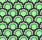 Grunge kolorowy geometryczny bezszwowy wzór Fotografia Stock