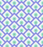 Grunge kolorowy geometryczny bezszwowy wzór Zdjęcia Royalty Free