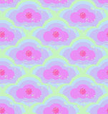 Grunge kolorowy geometryczny bezszwowy wzór Obrazy Royalty Free