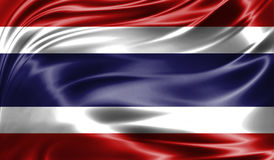 Grunge kolorowy tło, flaga Costa Rica Obrazy Royalty Free