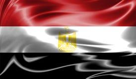 Grunge kolorowy tło, flaga Egipt Zdjęcie Royalty Free