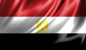 Grunge kolorowy tło, flaga Egipt Zdjęcia Royalty Free