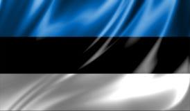 Grunge kolorowy tło, flaga Estonia Obrazy Stock