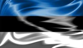 Grunge kolorowy tło, flaga Estonia Fotografia Royalty Free