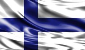 Grunge kolorowy tło, flaga Finlandia Obraz Royalty Free