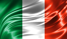 Grunge kolorowy tło, flaga Irlandia Zdjęcia Stock