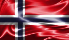 Grunge kolorowy tło, flaga Norwegia Obraz Royalty Free