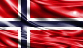 Grunge kolorowy tło, flaga Norwegia Zdjęcie Royalty Free