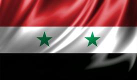 Grunge kolorowy tło, flaga Syria Zdjęcie Stock