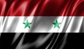 Grunge kolorowy tło, flaga Syria Obraz Stock