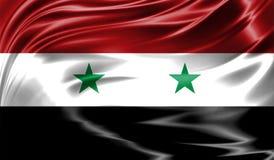 Grunge kolorowy tło, flaga Syria Obrazy Stock