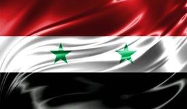 Grunge kolorowy tło, flaga Syria Obraz Royalty Free