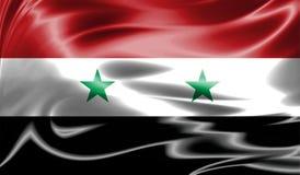 Grunge kolorowy tło, flaga Syria Fotografia Stock