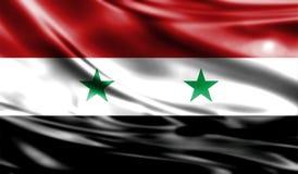 Grunge kolorowy tło, flaga Syria Zdjęcia Royalty Free