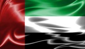 Grunge kolorowy tło, flaga Zjednoczone Emiraty Arabskie Zdjęcia Royalty Free