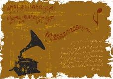 grunge koncertowy plakat Zdjęcie Royalty Free