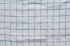 Grunge kontrollerade tygbakgrund eller textur Arkivbild