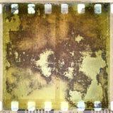 Grunge korrodierte Filmfeld Stockbilder