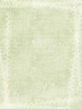 Grunge Kreide-Druckrand auf geripptem Büttenpapier Stockfoto
