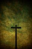 Grunge Kreuz Stockfotografie