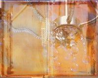 grunge książkowy rozprzestrzenianiu się Zdjęcia Stock