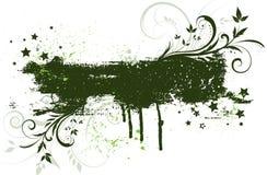 grunge kwiecisty tła Zdjęcie Royalty Free