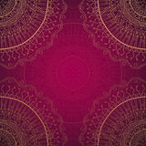 Grunge lace ornament. Stock Photography