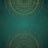 Grunge lace ornament. Royalty Free Stock Photo