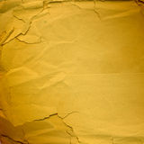 Grunge lacerated crumpled paper for design Stock Photo