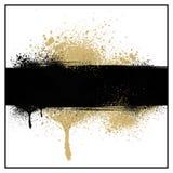 Grunge Lacksplatter-Hintergrund Stockbild