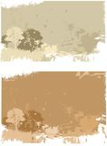 Grunge landscape stock illustration