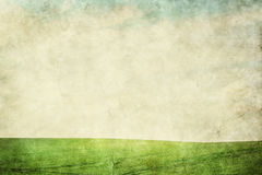 Grunge landscape background Stock Images
