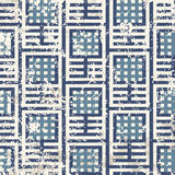 Grunge lattice. Grunge abstract lattice on a white background in seamless pattern Royalty Free Stock Photos
