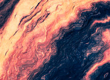 Grunge layers  pattern. Grunge pattern resembling growth rings in the minerals, trees or lava Stock Photography
