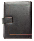 Grunge leather notebook cover Stock Images