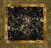 Grunge leather picture frame Royalty Free Stock Photos