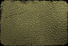 Dark green leather background Stock Photo