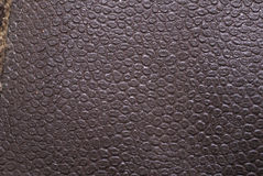 Grunge leather texture to background Stock Images