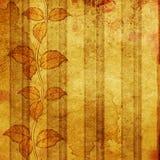 Grunge LeavesTextured Background Royalty Free Stock Photos