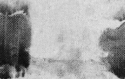 Grunge lekki tło od fiberboard, pressboard tekstura z wzorem embossing z czarnymi punktami farba zdjęcie stock