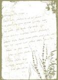 Grunge letter. Grunge style letter  illustration vector Royalty Free Stock Photo