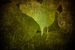 grunge liść Zdjęcia Stock