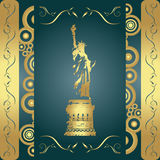 Grunge Liberty Background Royalty Free Stock Photo