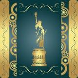 Grunge liberty background Royalty Free Stock Photo