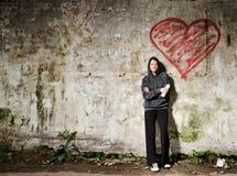 Grunge Liebe Lizenzfreies Stockfoto