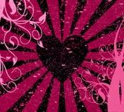 Grunge Liebe vektor abbildung